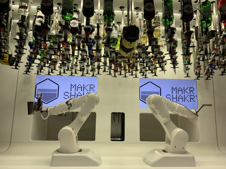 MakrShakr cocktail robots: AI More than Human
