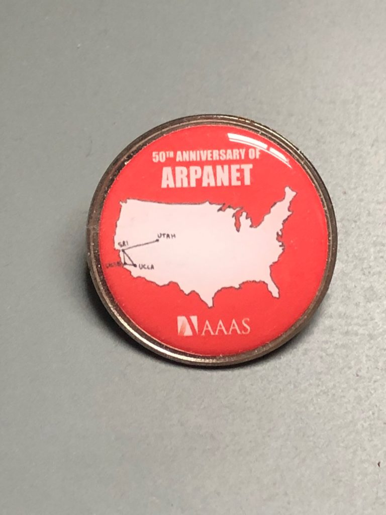 Arpanet 50 Badge
