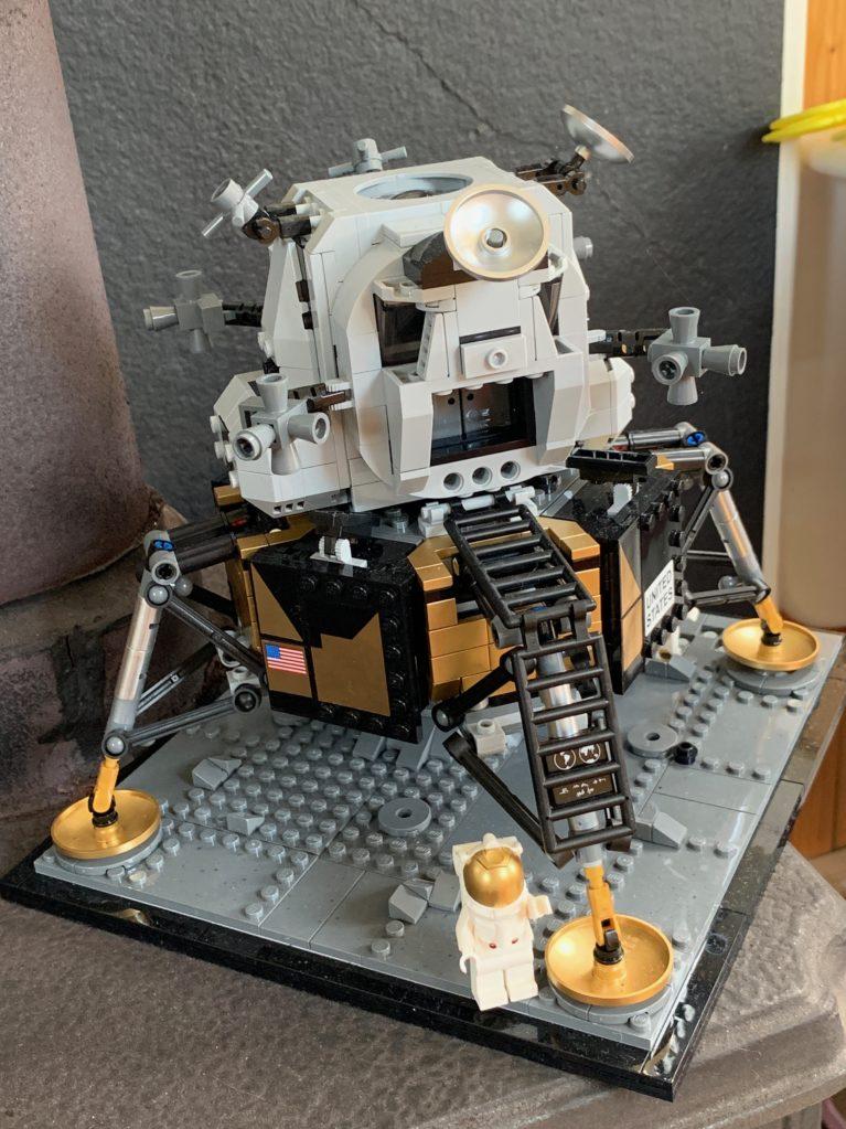 Lego model of the Lunar Excursion Module