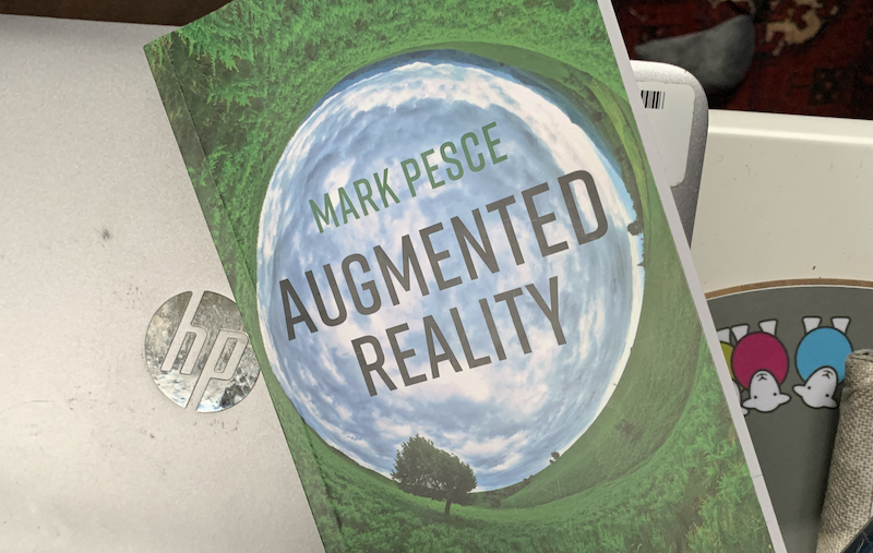 Copy of Augmented Reality on a laptop