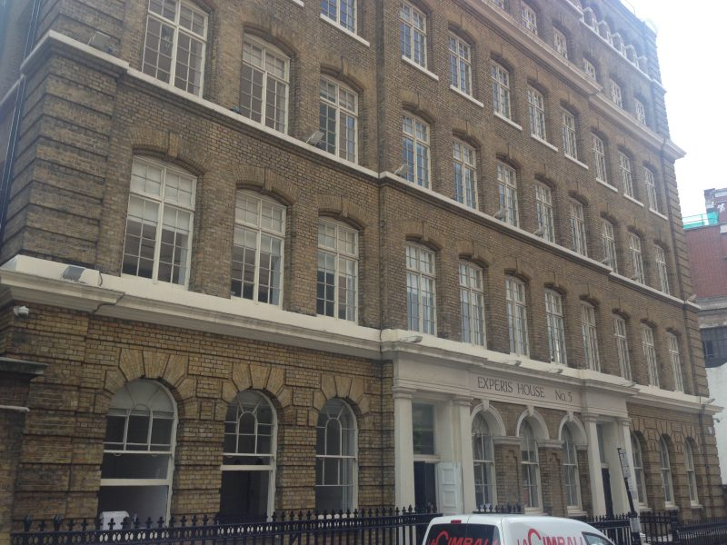 Ray Street, London. home of the New Media Lab
